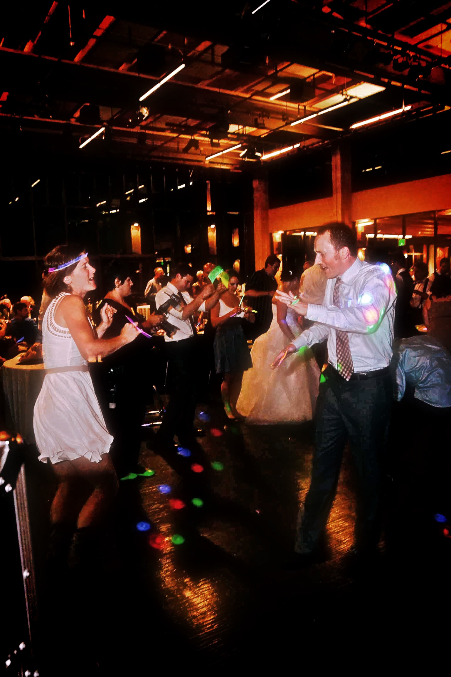 Electro wedding at Rosehill Community Center in Mukilteo ...