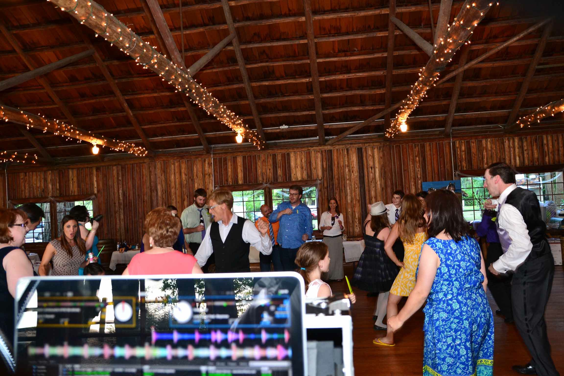 music masters djs a same sex wedding at kitsap memorial state park in poulsbo