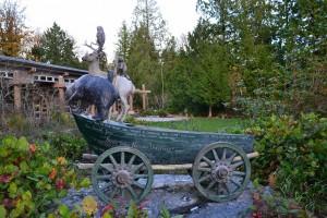 Sculpture at Islandwood