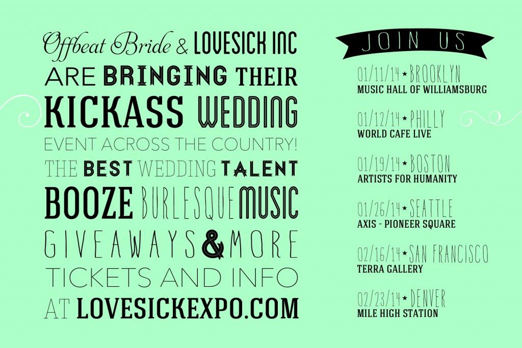 Lovesick Expo Seattle 2014