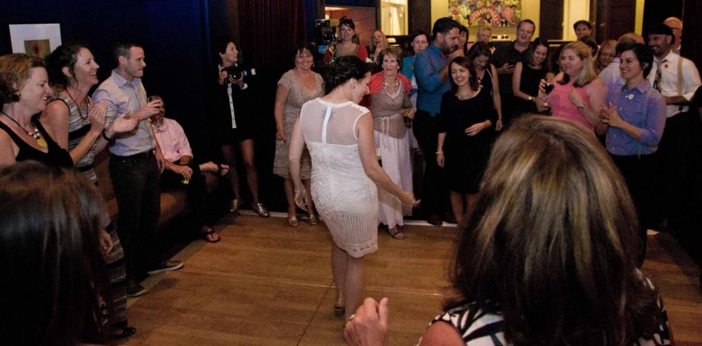 Alexis Hotel Wedding DJ Seattle Music Masters lesbian same sex