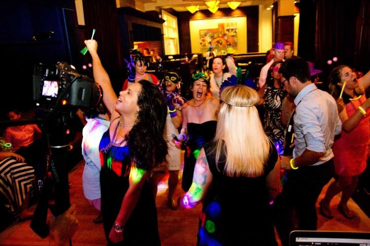Alexis Hotel Wedding Seattle DJ same sex lesbian