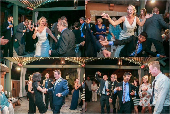 Music Masters DJ's a wedding on Bainbridge Island, Washington