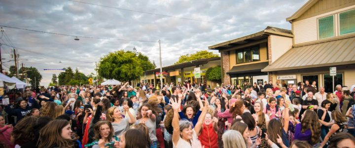 Music Masters DJ's the annual July 3rd Street Dance on Bainbridge Island