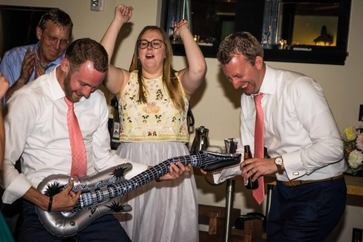 Music Masters DJ's a wedding at Hotel Ballard