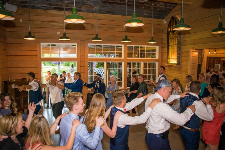 Music Masters DJ's a wedding at Red Cedar Farm in Poulsbo, Washington