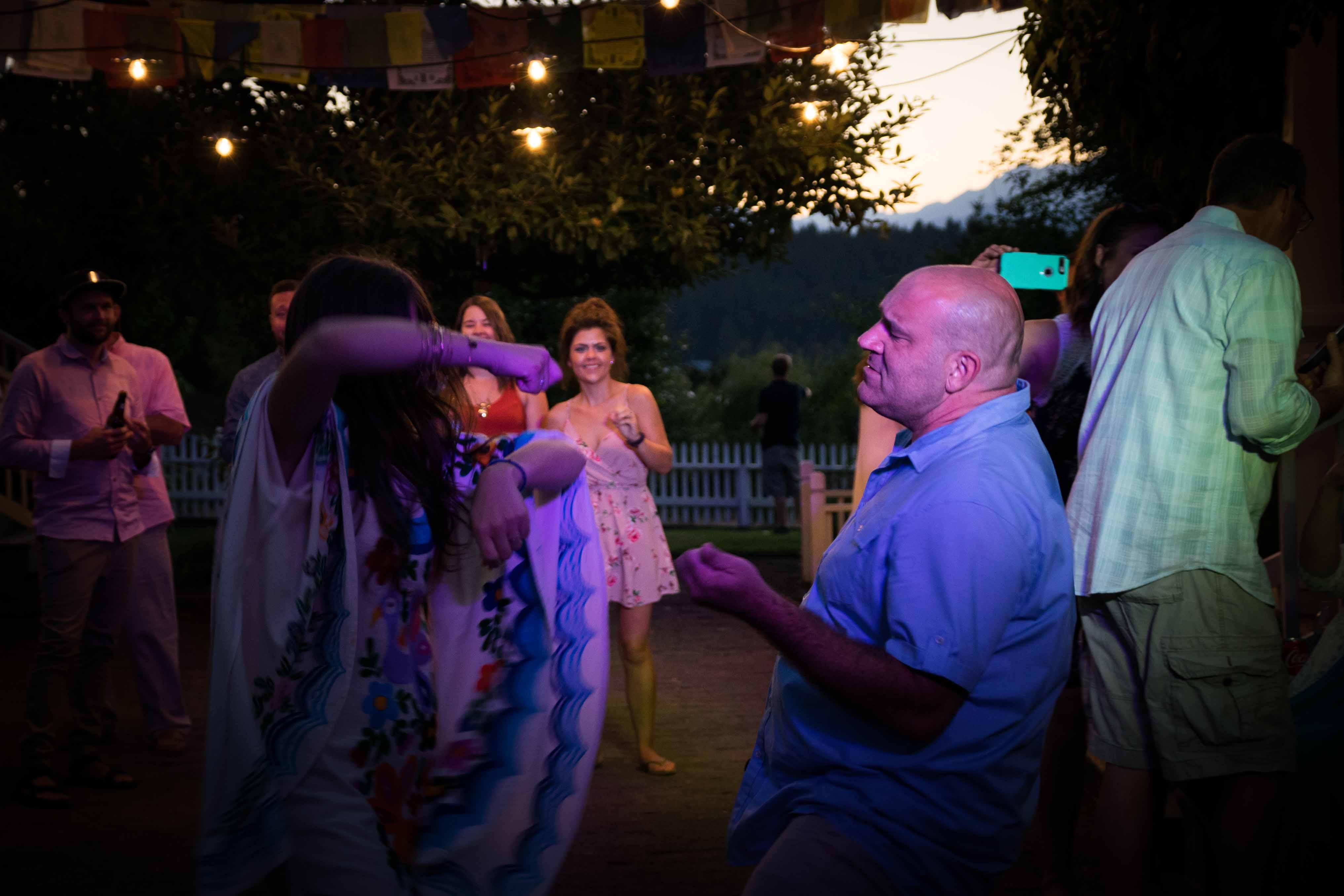Music Masters DJ's a wedding at Seabold Farm on Bainbridge Island